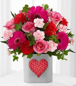 Photo of Hopeful Heart Valentine's Day Bouquet - FK329