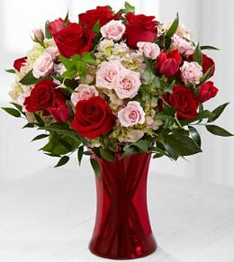 Photo of Sweet Adoration Valentine's Day Bouquet - FK350