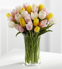 Photo of Sunset Escape Tulip Bouquet FTD - FB85