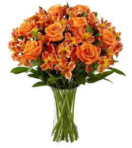 Photo of Orange in Vase - FD87