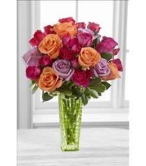 Photo of The FTD Sun's Sweetness Rose Bouquet by Better Homes and Gardens - BWR