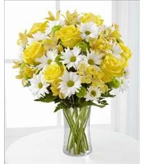 Photo of Sunny Sentiments in Vase  - C3-4793