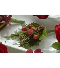 Photo of The FTD Red Berry Boutonniere - D11-4751