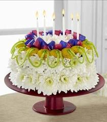 Photo of The FTD Bright Days Ahead Floral Cake - D3-4901