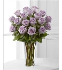 Photo of Lavender Roses in Vase - E3-4811