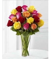 Photo of The FTD Bright Spark Rose Bouquet - E4-4809