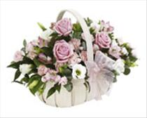 Photo of Baby Girl Basket  - 482409