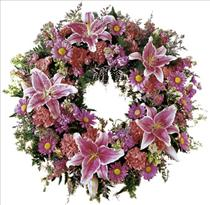 Photo of Loving Remembrance Wreath - IC-FTD606