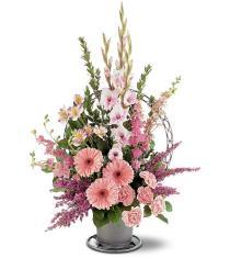 Photo of Hopeful Pink Basket - TF187-1