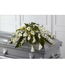 Photo of The FTD Angel Wings Casket Spray - S11-4460