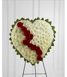 Photo of Broken Heart Easel - S13-4466