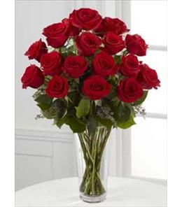 Photo of The FTD Red Roses Vased  - S14-4305