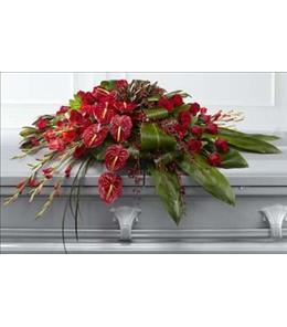 Photo of The Peaceful Passage Casket Spray - S18-4476