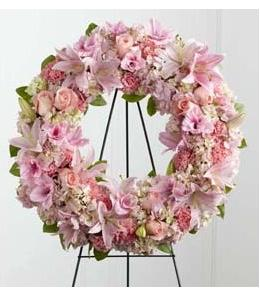Photo of Loving Remembrance Wreath  - S21-4484