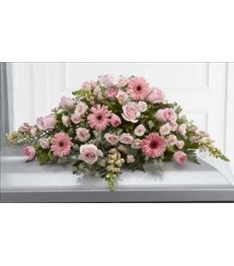 Photo of Sweet Farewell Casket Spray by FTD  - S24-4490