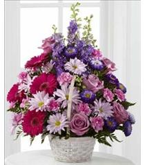 Photo of The FTD Pastel Peace Basket - S29-4503