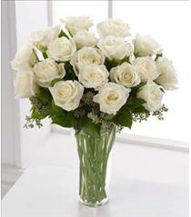 Photo of The FTD White Rose Bouquet - S3-4308