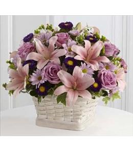 Photo of Loving Sympathy Basket - S31-4509