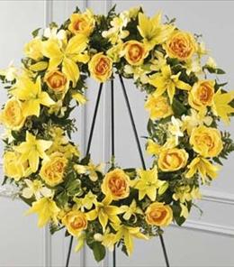 Photo of Ring of Friendship Wreath  - S38-4217