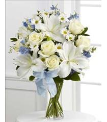 Photo of Sweet Peace Vase Bouquet - S46-4550