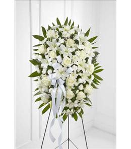 Photo of Exquisite Tribute Standing Spray on Easel - S6-4447