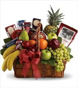 Photo of Bon Vivant Gourmet Basket - T107-1