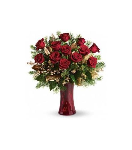 Photo of BF6047/T115-2DX (15 roses)