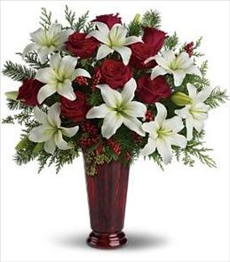 Photo of Holiday Magic by Teleflora T117-1 - T117-1