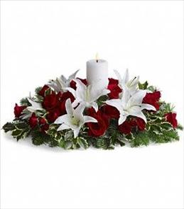 Photo of Luminous Lilies Centerpiece - T128-3