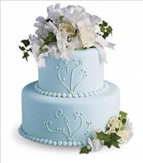 Photo of Sweet Pea and Roses Cake Decoration - T185-2