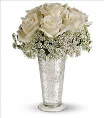 Photo of Teleflora's White Lace Centerpiece - T189-1