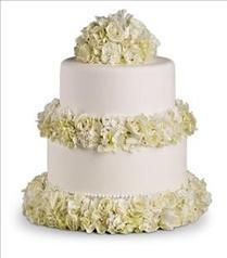 Photo of Sweet White Cake Decoration - T189-3