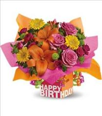 Photo of Rosy Birthday Present Teleflora - T20-1