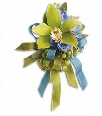 Photo of Big Night Orchid Corsage - T201-6