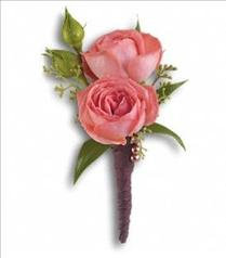 Photo of Rose Simplicity Boutonniere - T202-6