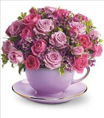 Photo of Teleflora's Cup of Roses Bouquet - T210-2