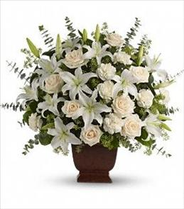 Photo of Teleflora's Loving Lilies and Roses Bouquet - T216-1