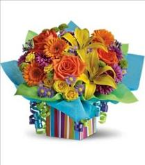 Photo of Teleflora's Rainbow Present - T23-1