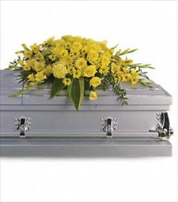 Photo of Graceful Grandeur Casket Spray - T242-1