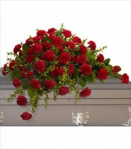 Photo of Adoration Casket Spray - T242-2