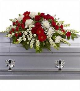 Photo of Strength and Wisdom Casket Spray - T242-3