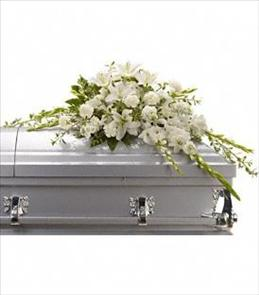 Photo of Bountiful Memories Casket Spray - T242-4
