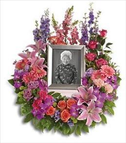 Photo of In Memoriam Wreath - T253-1