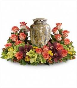 Photo of Sunset Wreath for Urn - T254-1
