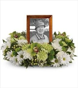 Photo of Garden Wreath for Photo - T255-1