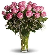 Photo of Make Me Blush Pink Roses  - T4-1