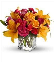 Photo of Uniquely Chic Cube Vase Teleflora - T47-3
