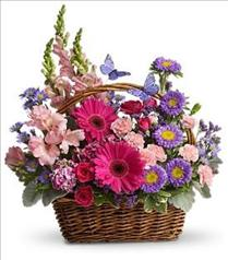 Photo of Country Basket Blooms - T48-3