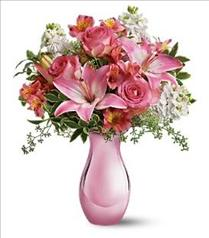 Photo of Teleflora's Pink Reflections Bouquet - T52-1