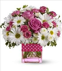 Photo of Teleflora's Polka Dots and Posies - T52-3